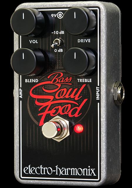 Electro Harmonix EHX Bass Soul Food Pedal, Brand New in Box