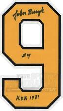 John Bucyk Boston Bruins Signed Autographed HOF 1981 Home Jersey Number