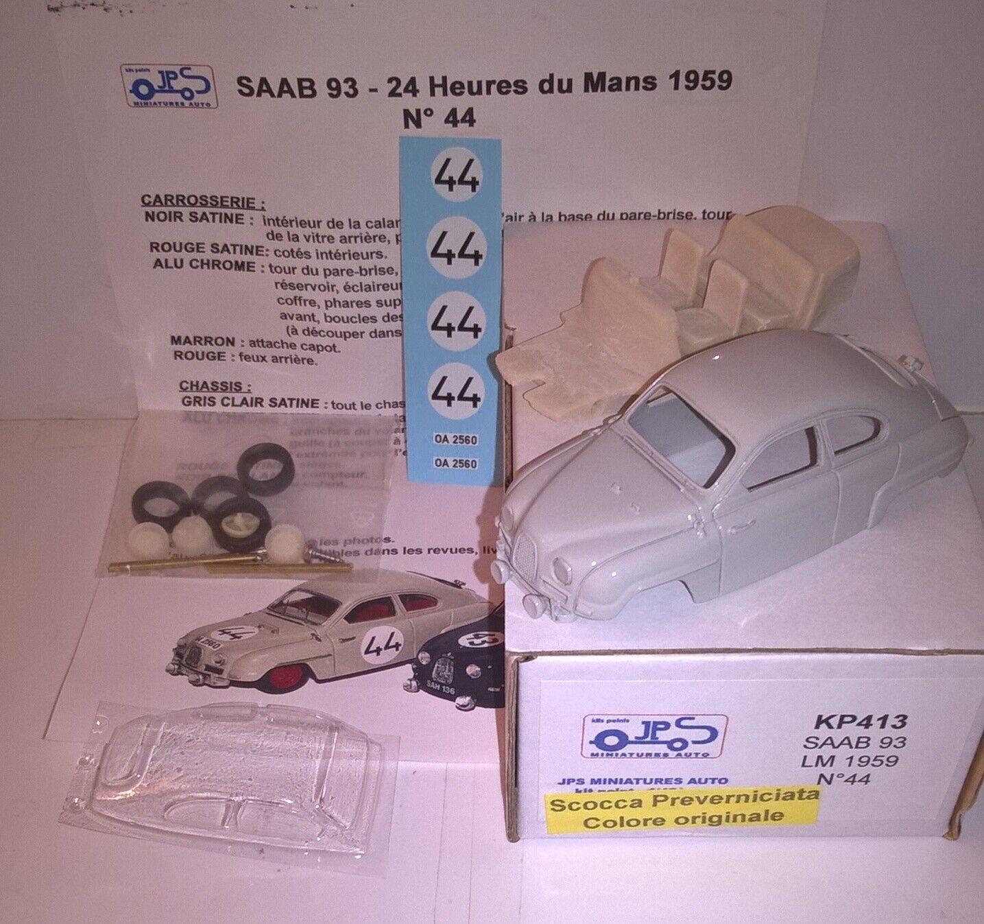 SAAB Ty.93 Le Mans '59  43 Kit Montaggio JPS413 Prepainted