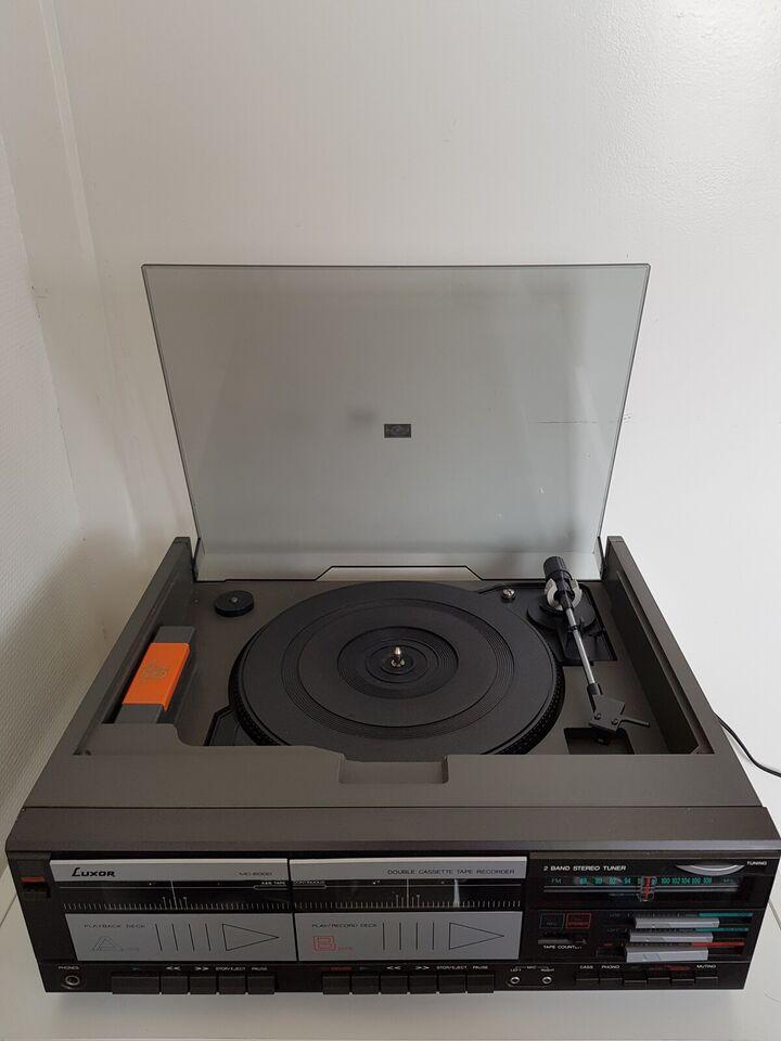 Båndoptager, Andet, Luxor MC6000 - CASSETTE DECK/