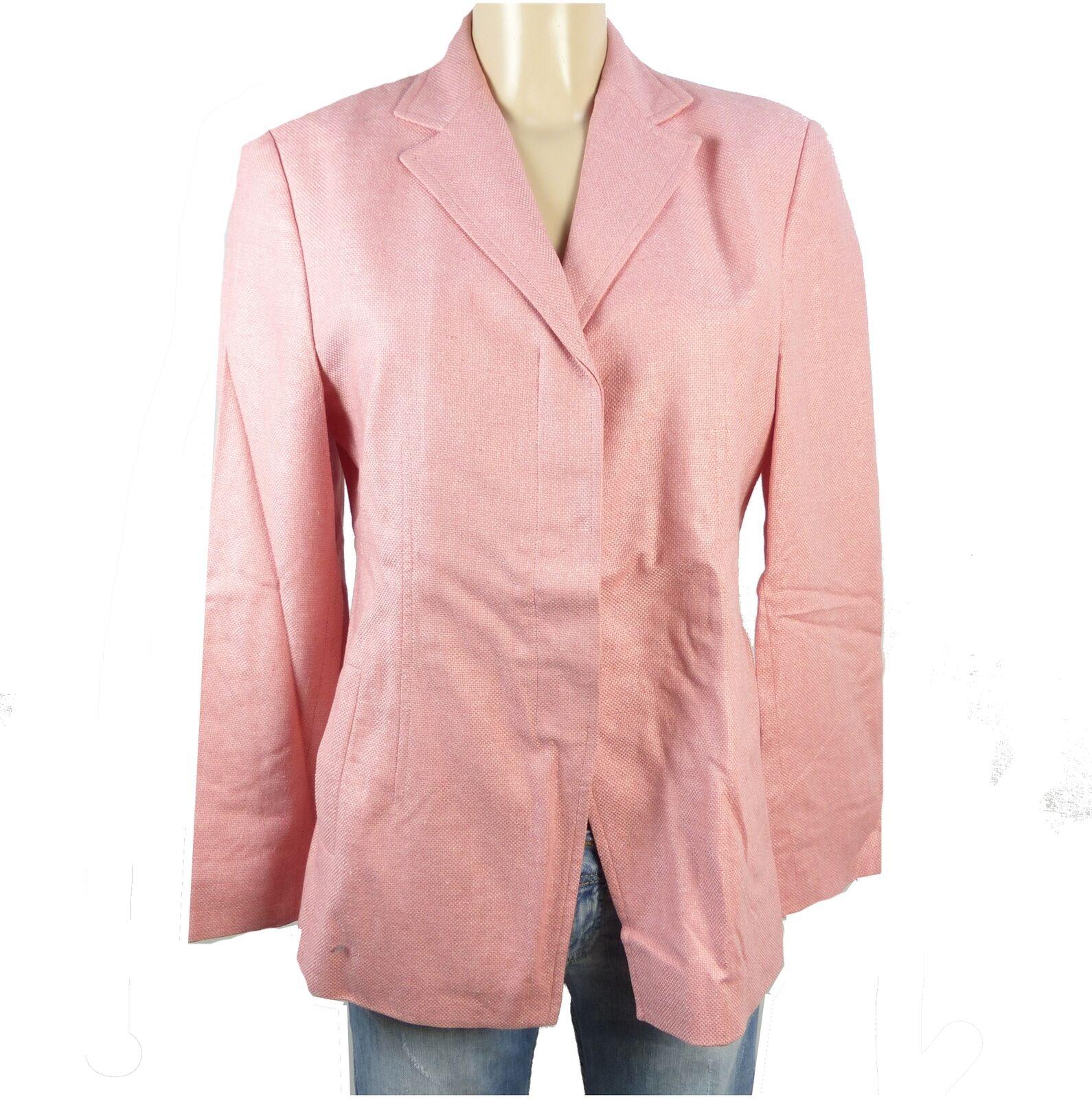 WINDSOR Struktur Blazer pink Gr. 40 (BC38)