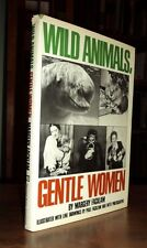 WILD ANIMALS, GENTLE WOMEN Facklam SIGNED by author & illustrator Goodall dj 1st