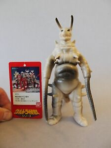 Vintage Bandai Ultraman Kaiju Gudon w/ tag 1989 Japan Hard Vinyl Bullmark Marmit