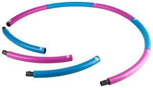 energetics Hula - Hoop - Reifen Hula-Hoop-Ring hellblau / pink