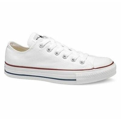NEW Converse All Star Ox Low Top Trainers Canvas White Black Grey UK Size 3-11