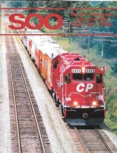 The-Soo-Line-Summer-1993-Telegraphy-CP-Circus-Train-Minneapolis-Northfield