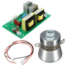 AC 220V 100W 40KHz Ultrasonic Cleaner Power Driver Board with 50W 40K Transducer