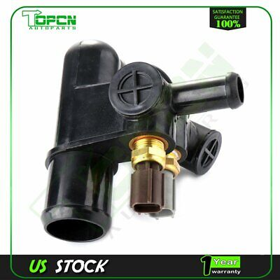Engine Coolant Thermostat Housing For Mazda B2500 Truck 2 ...