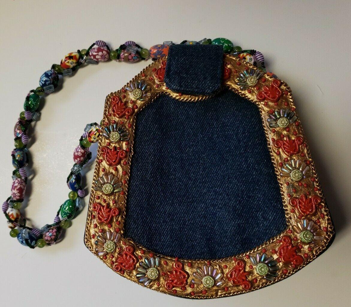Mary Frances Butterfly Purse Handbag - image 2