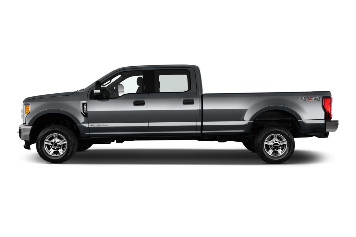 Ford F 350 side view