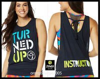 Zumba Instructor Turned Up Instructor Loose Tank Racerback Zin Exclusive - S M L