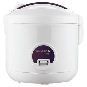 Reishunger-Reiskocher-elektrisch-500W-4-Personen-1-2L-Dampfgarer-Rice-cooker