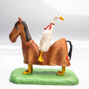 The Trick Rider by Will Bullas Porcelain Greenwich Workshop COA Duck Horse