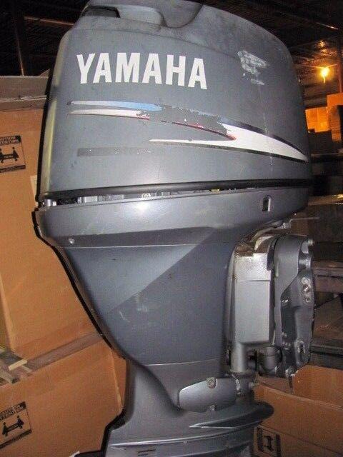 2003 Yamaha 90hp 4 Stroke Outboard Motor F90tlrb For Sale Online Ebay