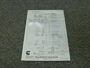 Details about 1993-1995 mins N14 Celect Plus Engine Electrical Wiring on