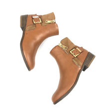 Bongo Women/'s Karlie Brown Western Ankle Bootie 111P pm NEW