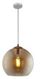 Design-Lampada-Led-Moderno-Luce-a-Sospensione-Vetro-Amber-31-cm-Plafoniera