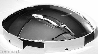 Grand General 10515 Chrome Front Hub Cap with 1 Lip and 6 Uneven Notches