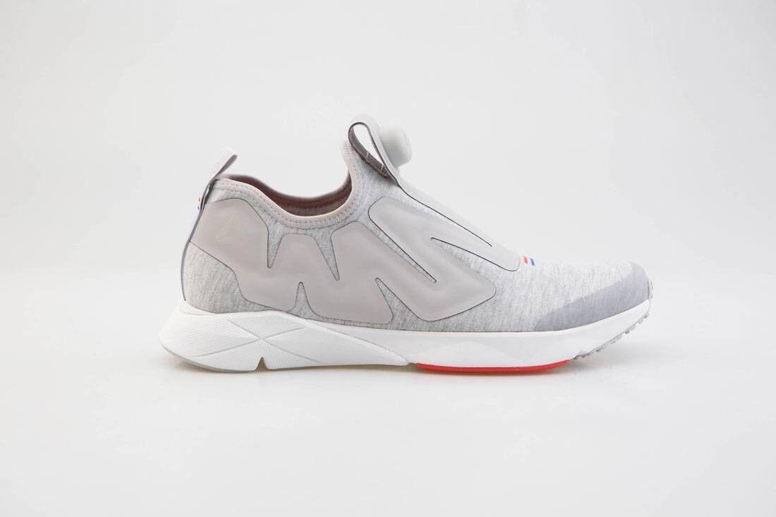 179.99 Reebok Men Pump Supreme Hoodie gray zinc white china red BS7038
