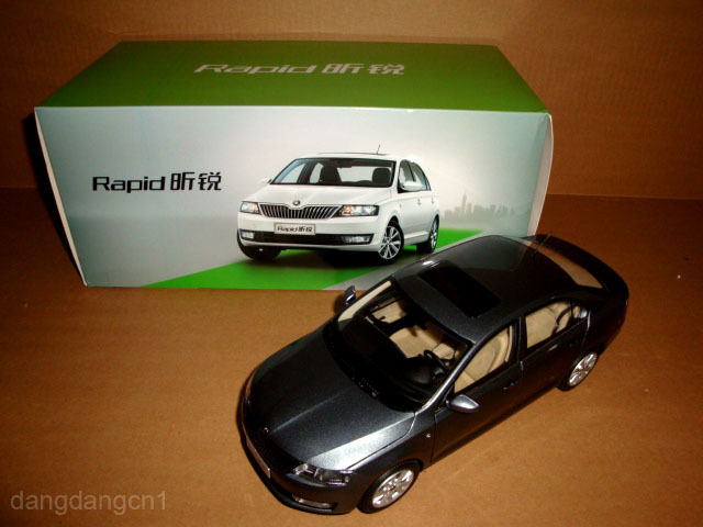 1/18 Skoda Rapid Gris color