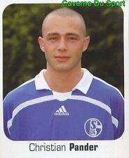 423 CHRISTIAN PANDER GERMANY FC SCHALKE 04 STICKER FUSSBALL 2007 PANINI