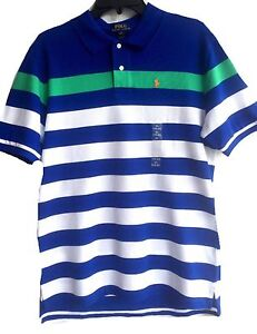 4975e41d0 NWT Boys Ralph Lauren Blue Top age 14 to 15 or 16-17 years