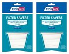 Swimming Pool Spa Skimmer Basket Filter Saver Bag Fine Mesh Socks Pack of 10