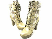 ROCAWEAR, WITNI, CHAMPAGNE, HEEL/BOOTS, WOMENS, US 5M, NEW WITH BOX
