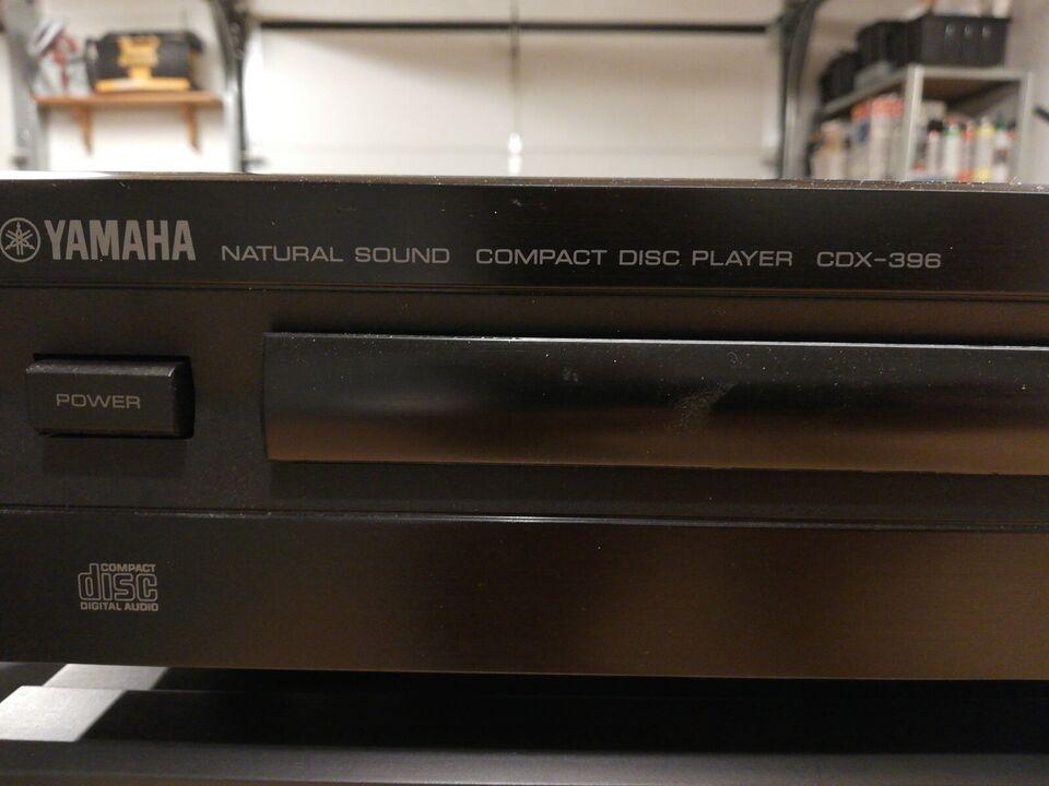 CD afspiller, Yamaha, Cdx-396