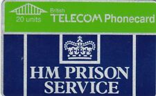 HM Prison Service BT Phonecard used