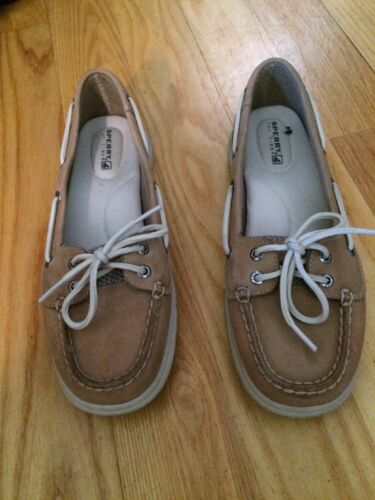 Top Sperry 5 Women's Eye Sider Euc 2 7 Intrepid Wide Leather ASqCS