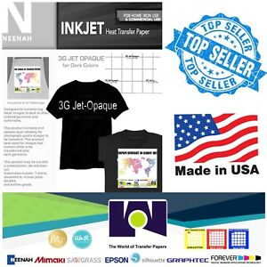 Neenah-3G-Jet-Opaque-Heat-Transfer-Paper-for-Dark-Colors-A4-20-sheets