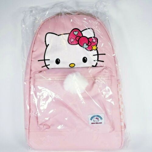 PINK Brand NEW w//Tags Sanrio Hello Kitty X Shoe Palace Backpack FA18-HKBP