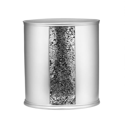 Bathroom Waste Basket Popular Bath Sinatra Silver Collection
