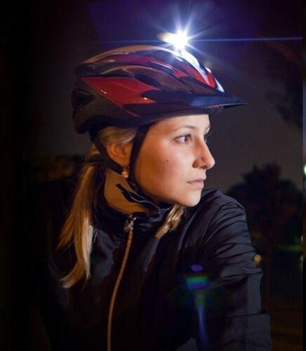 Sigma Micro Fahrrad Lampe Front Weiße LED Vorderlicht Rad Bike Licht Laufen Helm