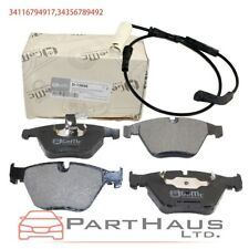 BMW E60 E61 5-Series Genuine Front Brake Pad Set with Sensor 530xi 550i 525i 545