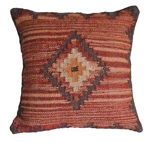 """Handmade kilim Housse de Coussin 20/"""" 50 cm coton indien persan marocain Beige Crème"""