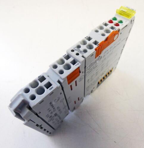 2-Kanal Digital Eingangsklemme used WAGO 753-418 2DI 24V DC 3,0ms Diagn