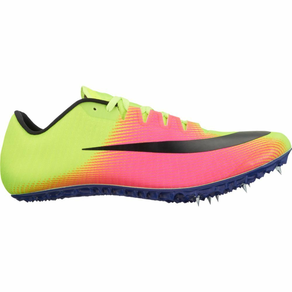 Nike Zoom Jafly TRACK & FIELD Spikes, Neon yellow and Pink Scarpe classiche da uomo