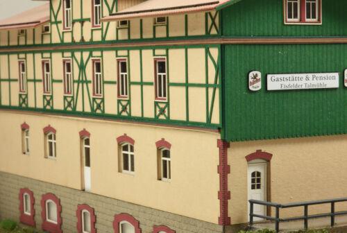 "Te-minatur 1870 Lasercut-kit la estación /""pudieron talmühle/"" resina pista h0"