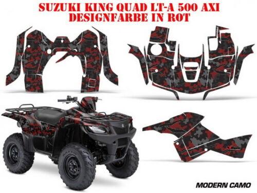 AMR Racing DECORO KIT ATV Suzuki KING QUAD LTA 450//500//700//750 Modern CAMO B