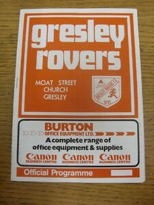 26121986 Gresley Rovers v Atherstone United  folded Unless previously liste - Birmingham, United Kingdom - Returns accepted within 30 days after the item is delivered, if goods not as described. Buyer assumes responibilty for return proof of postage and costs. Most purchases from business sellers are protected by the Consumer Contr - Birmingham, United Kingdom