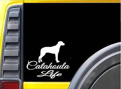 Catahoula Leopard Dog DadHigh Quality Vinyl Decal Sticker