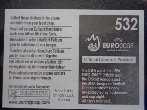 Panini euro 2008 1992 Danmark UEFA historial de Campeonato de Europa #532