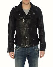 Diesel Leather Jacket, Model Lasmiss, Size L One time use
