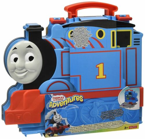 Fisher Price Thomas /& Friends Adventures On-The-Go  Train Playbox Carry Case