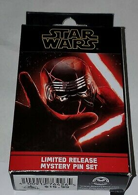 Disney Star Wars Rise Of Skywalker ONE UNOPENED Random Pin Box With Two Pins New