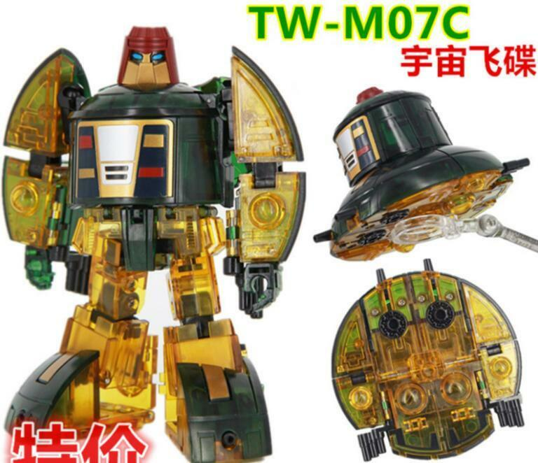 ToyWorld Transformers TW-M07C Spaceracer MP Cosmos Transparent Clear Ver New