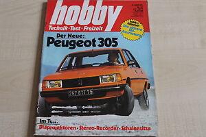 Hobby 23/1977 163833 Peugeot 305