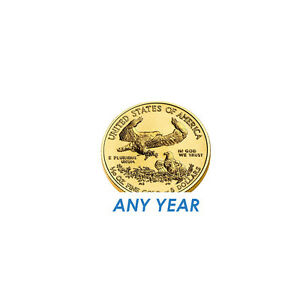 1/10 oz American Eagle $5 Gold Coin - Random Year
